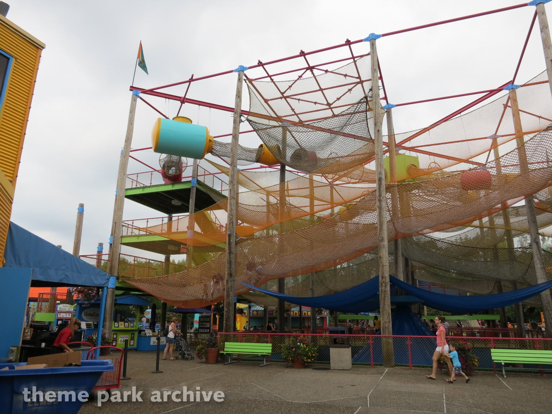 Nets & Climbs at Sesame Place