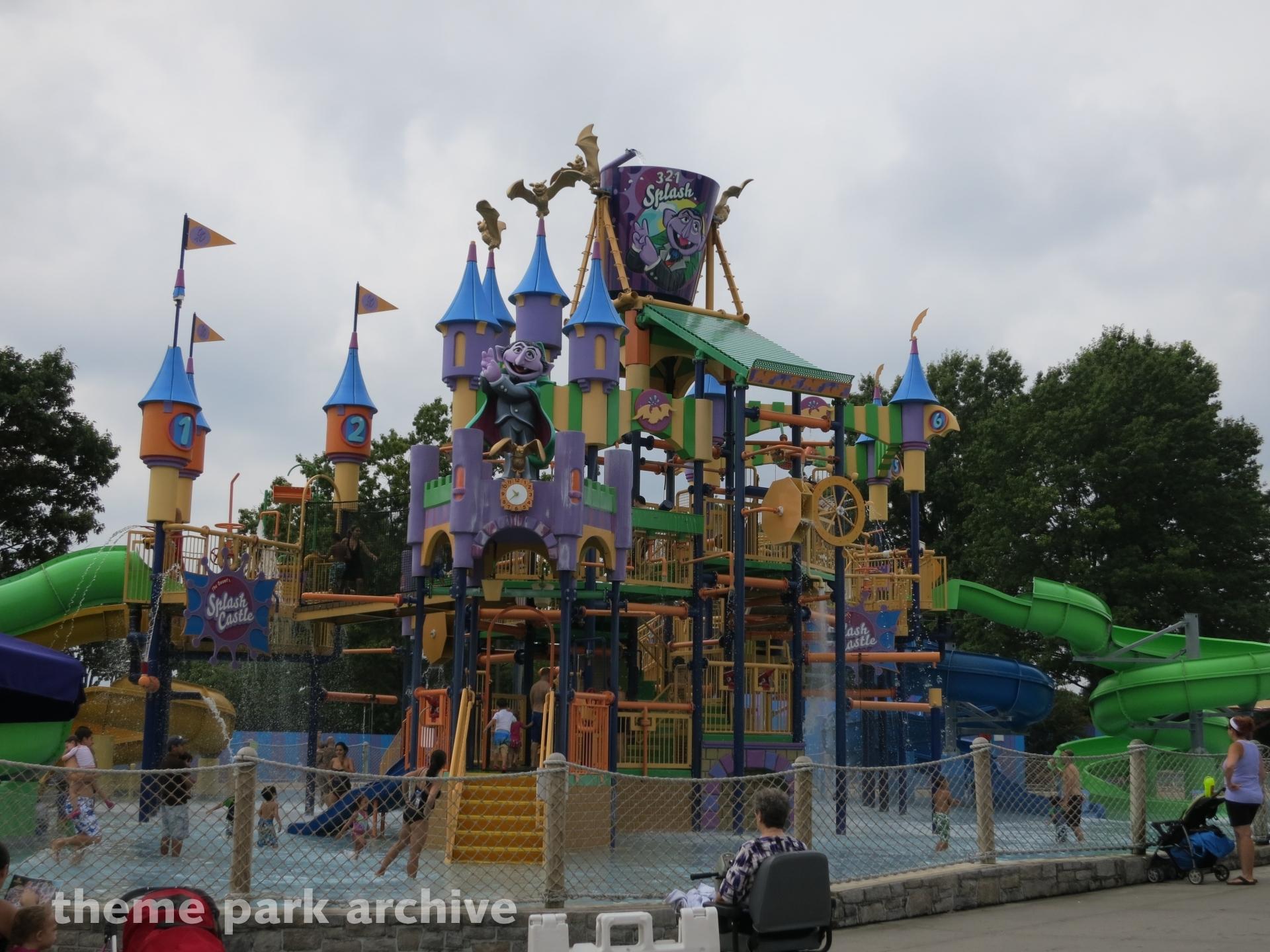 The Count's Splash Castle at Sesame Place