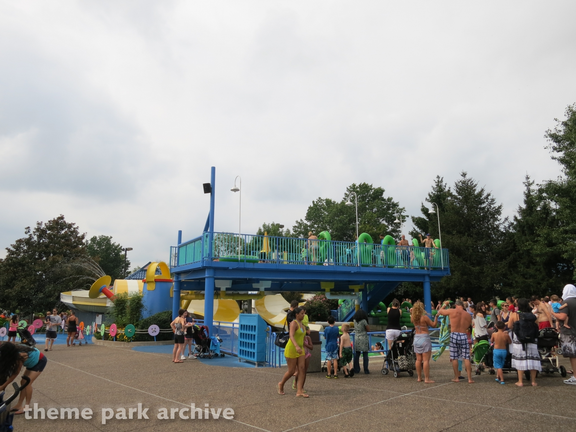 Slimey's Chutes at Sesame Place