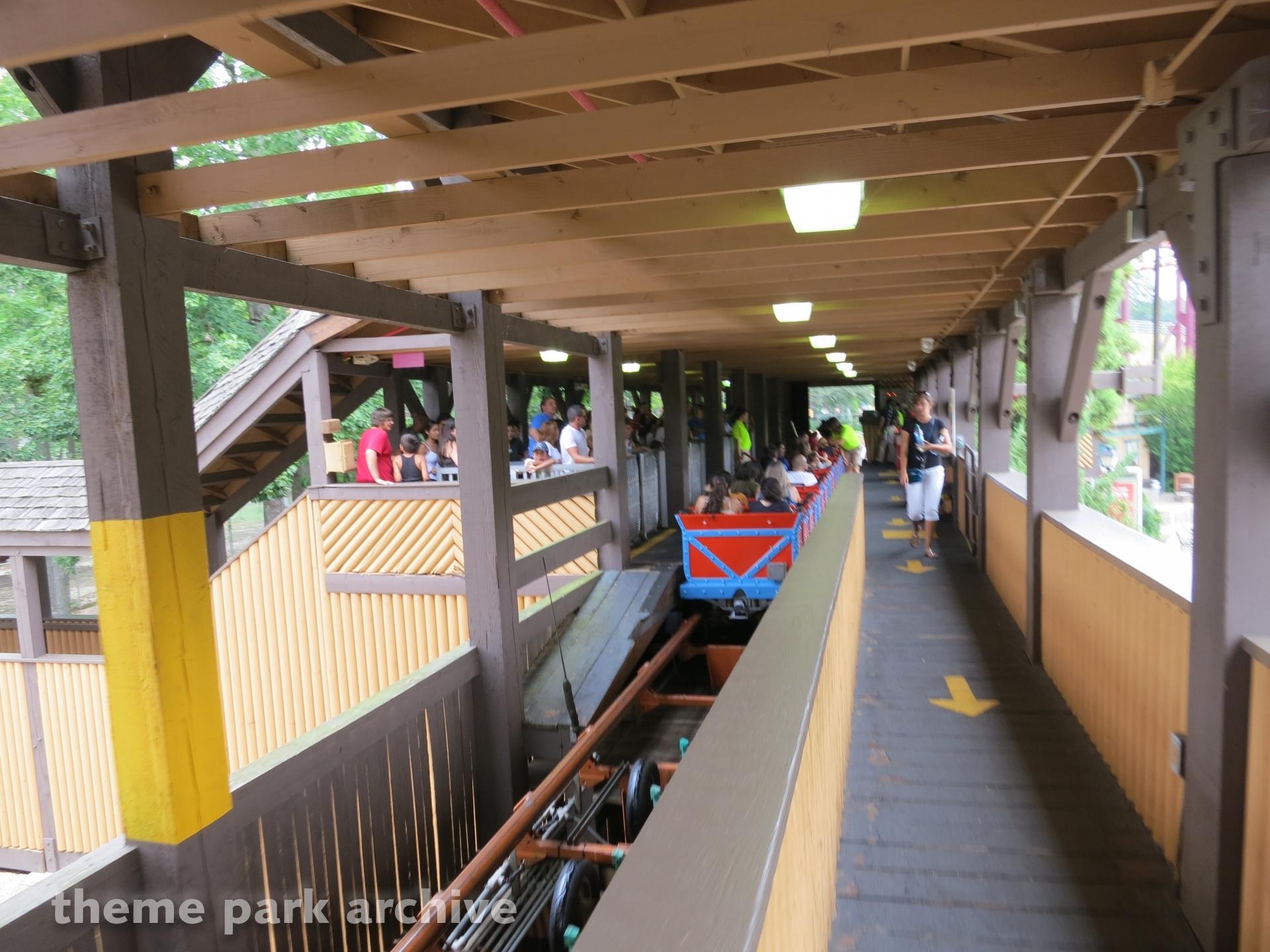 Runaway Mine Train at Six Flags Great Adventure