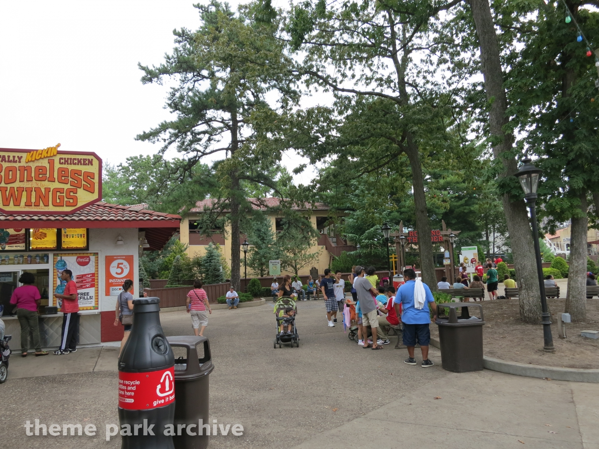 Plaza Del Carnival at Six Flags Great Adventure