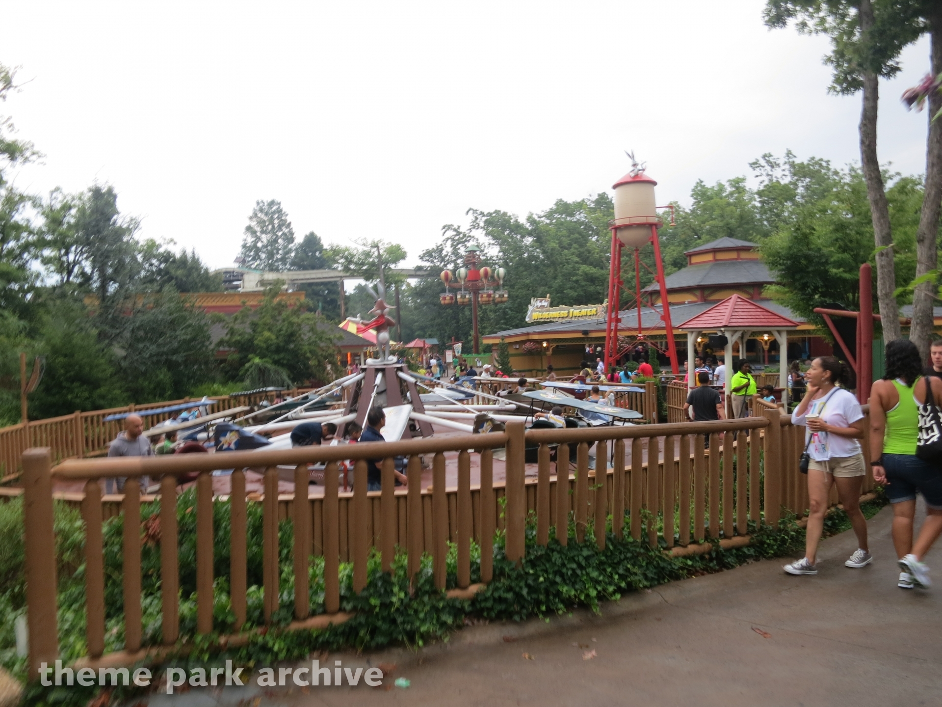 Bugs Bunny National Park at Six Flags Great Adventure