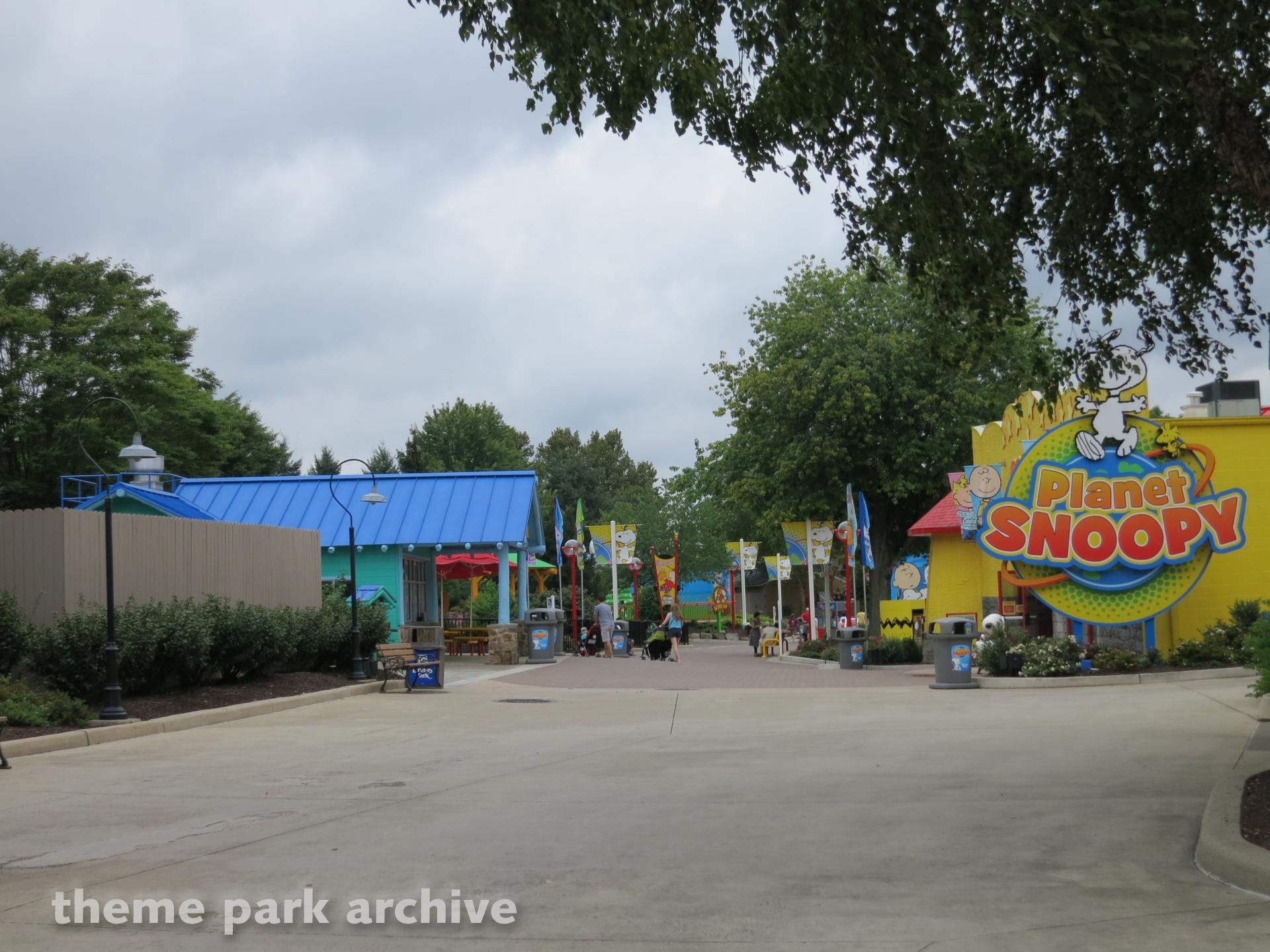 Planet Snoopy at Dorney Park