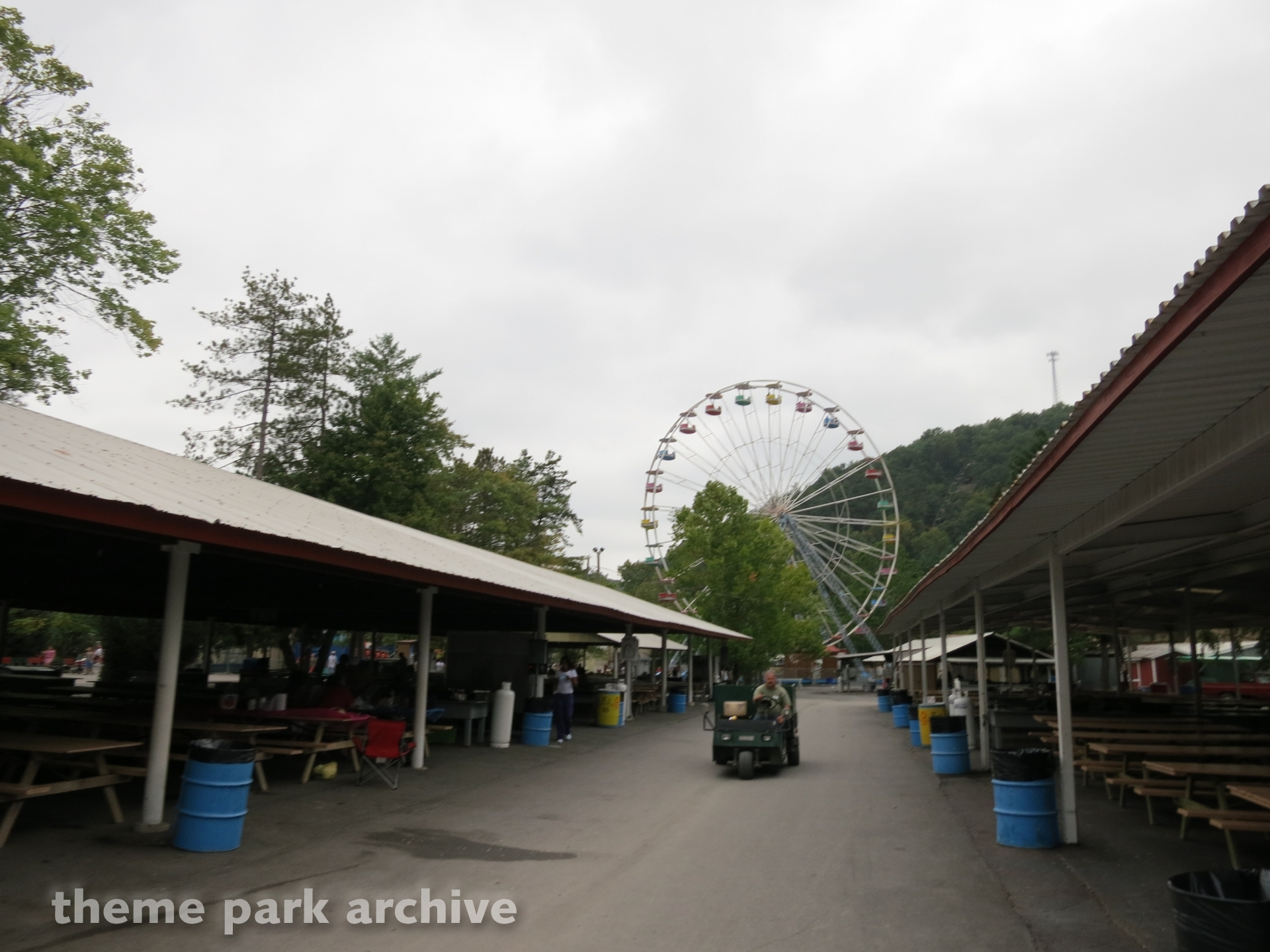 Giant Wheel at Knoebels Amusement Resort