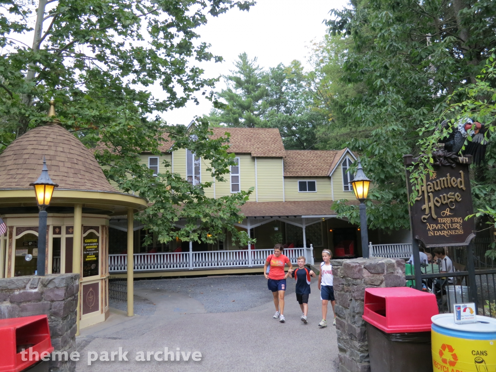 Haunted Mansion at Knoebels Amusement Resort