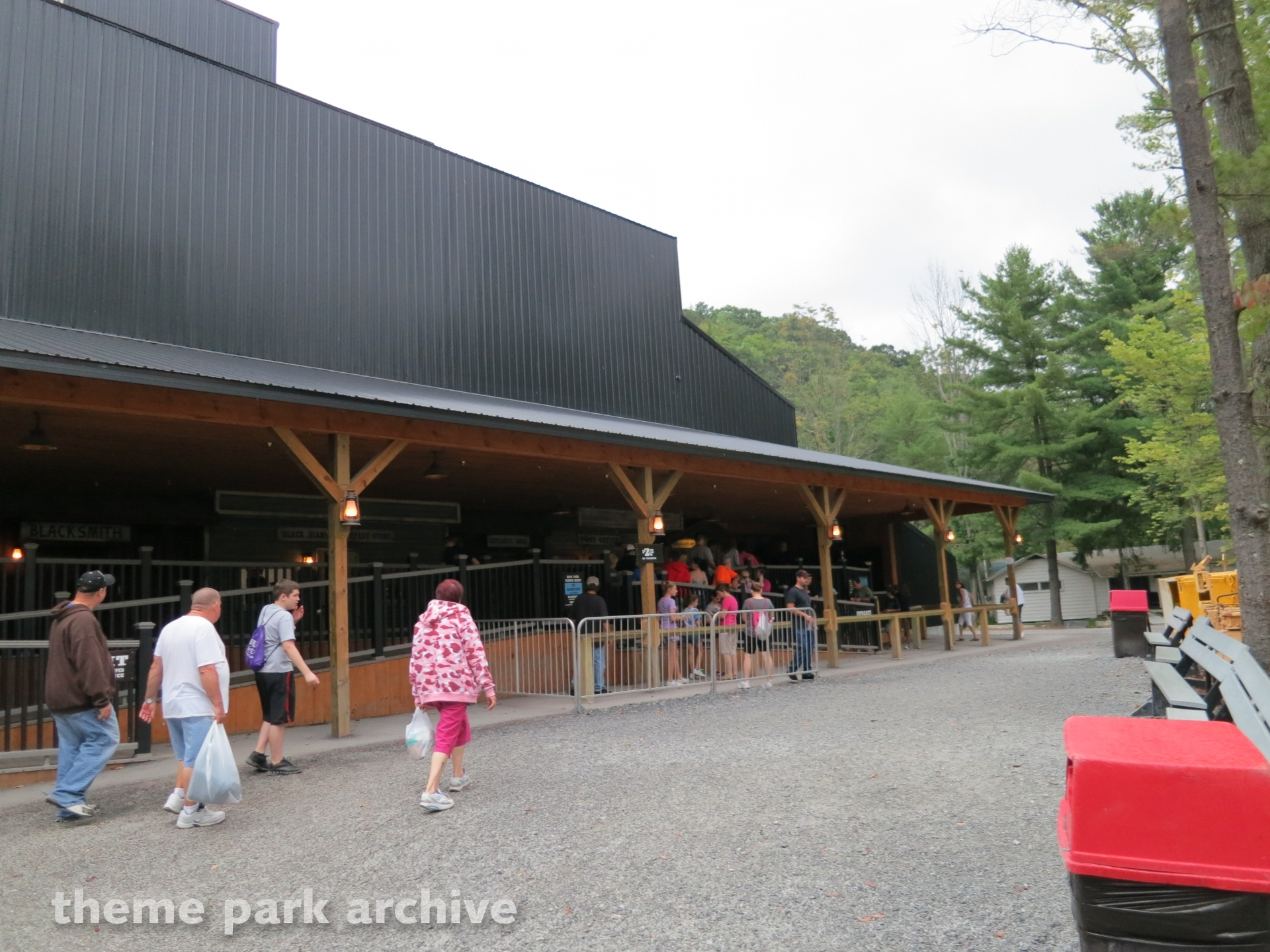 Black Diamond at Knoebels Amusement Resort