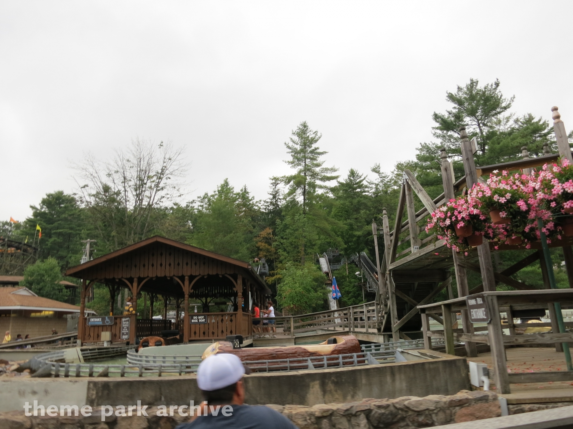 Flume at Knoebels Amusement Resort