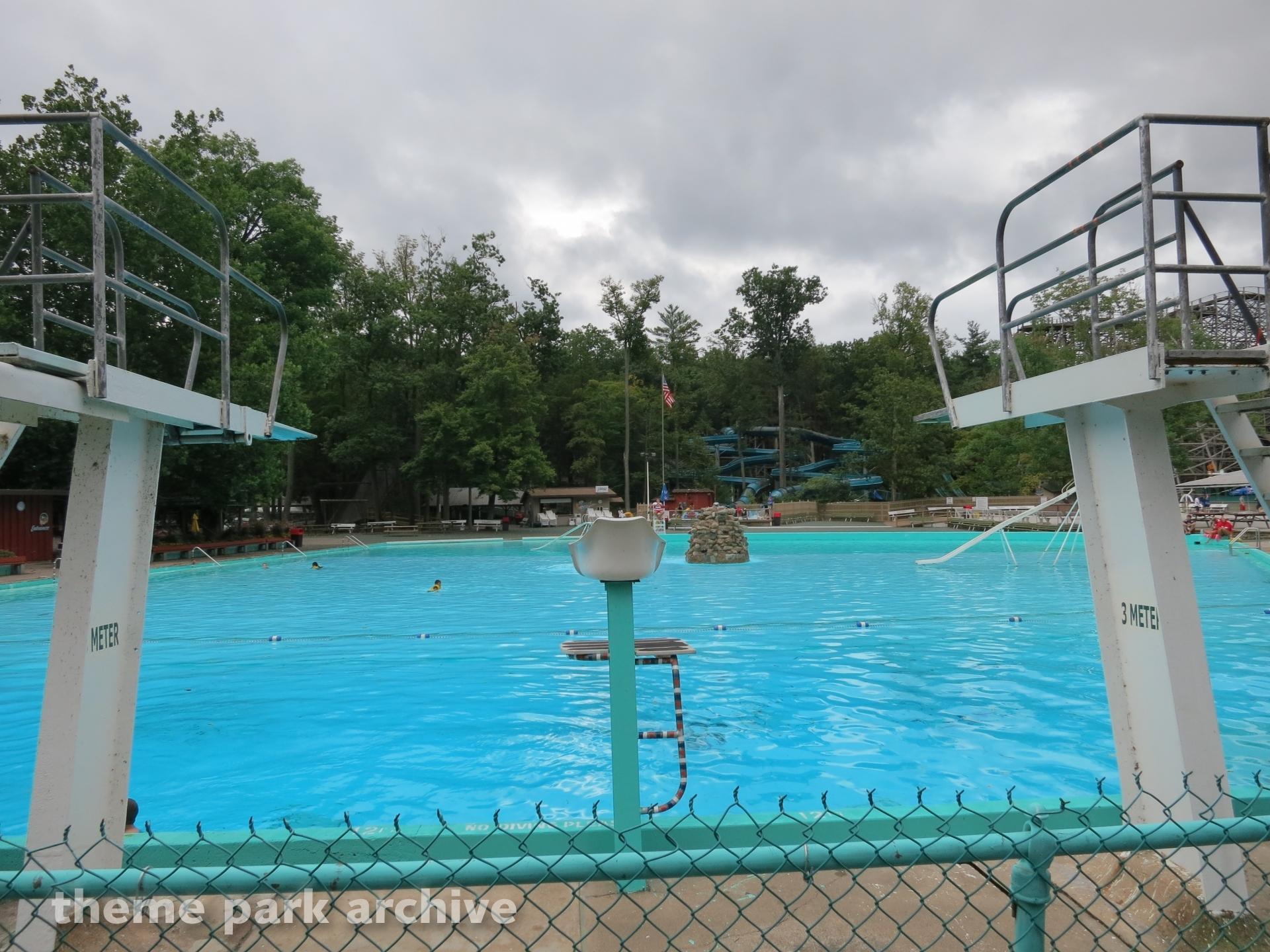 Crystal Pool at Knoebels Amusement Resort