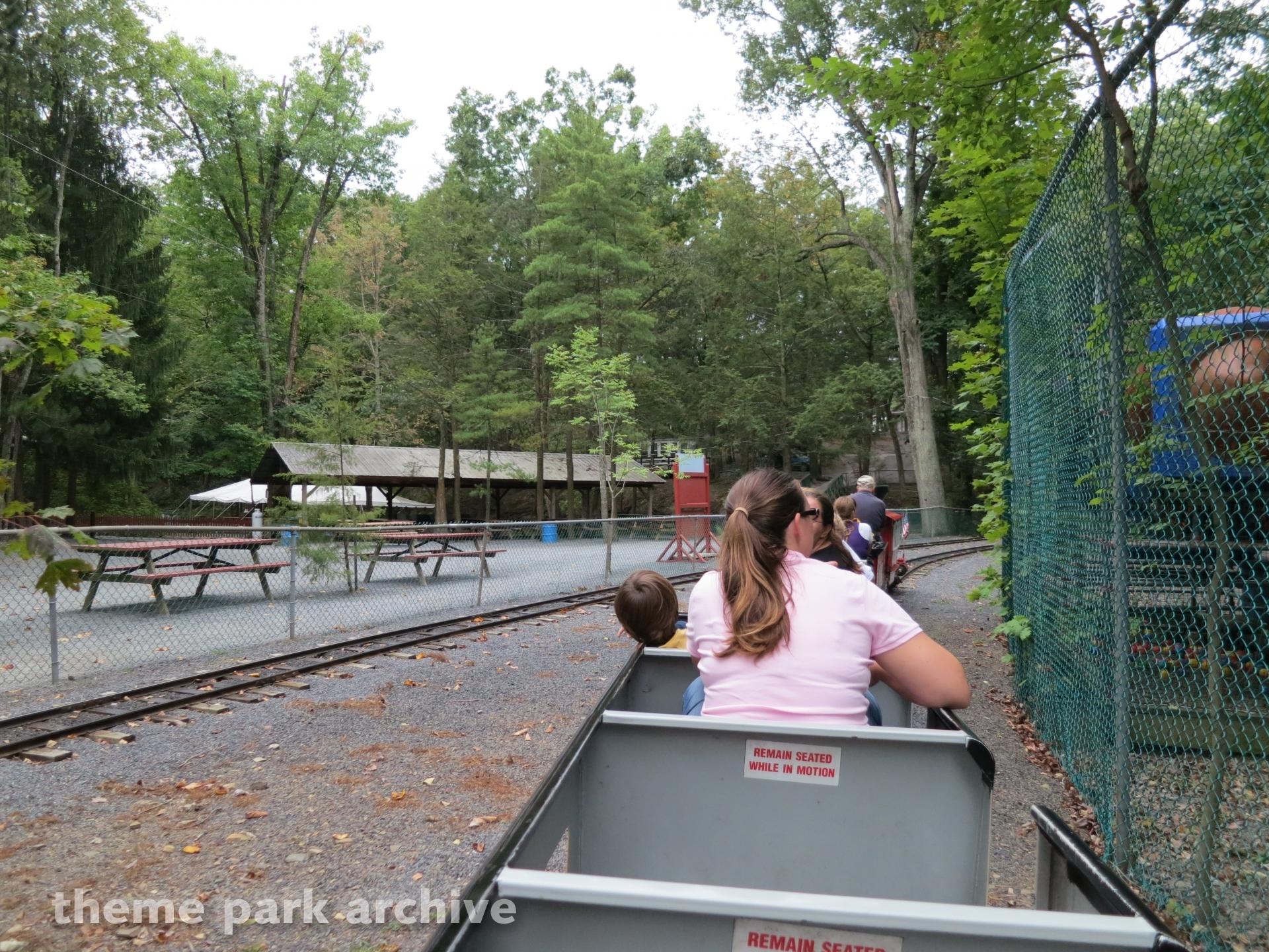 Pioneer Train at Knoebels Amusement Resort