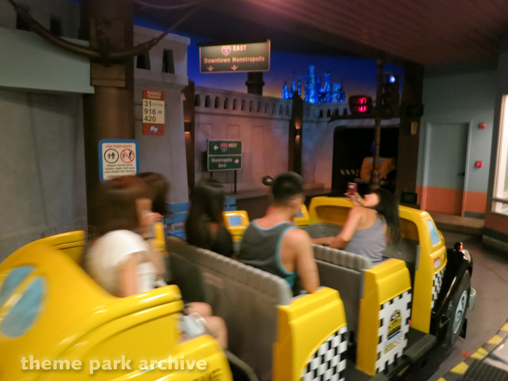 Monsters Inc. Mike & Sulley to the Rescue at Disney California Adventure