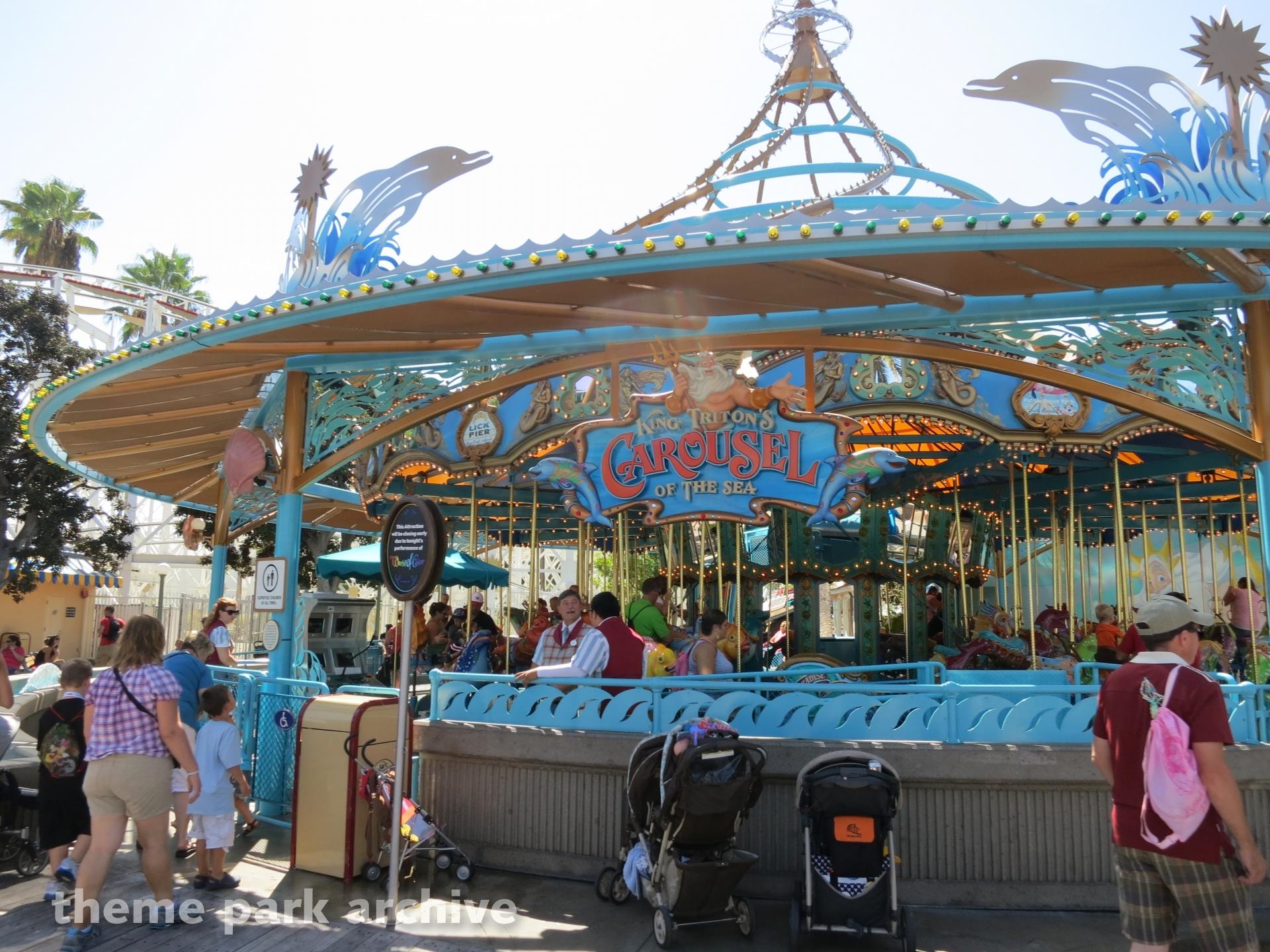 King Triton's Carousel of the Sea at Disney California Adventure