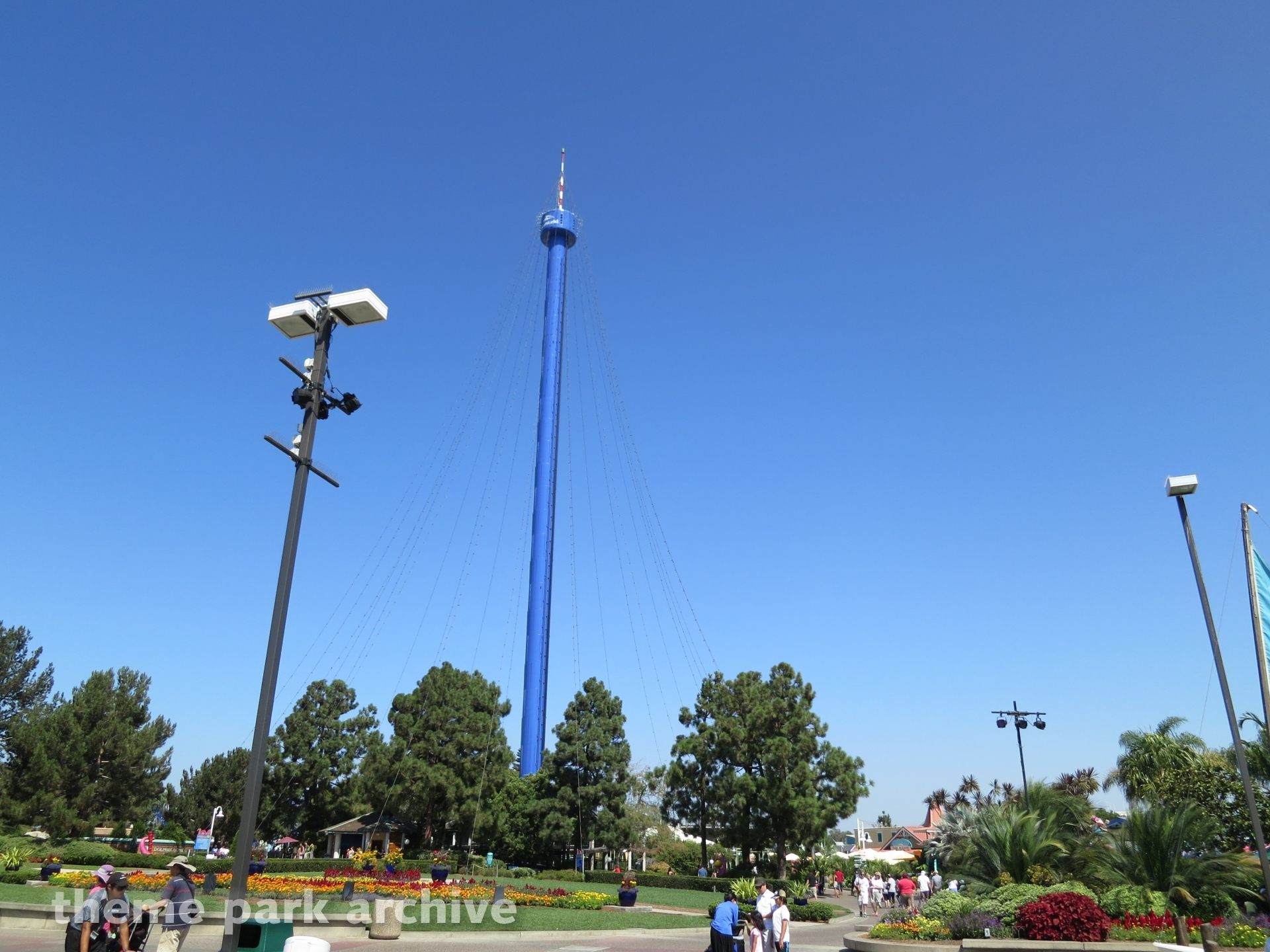 Skytower Ride at Sea World San Diego