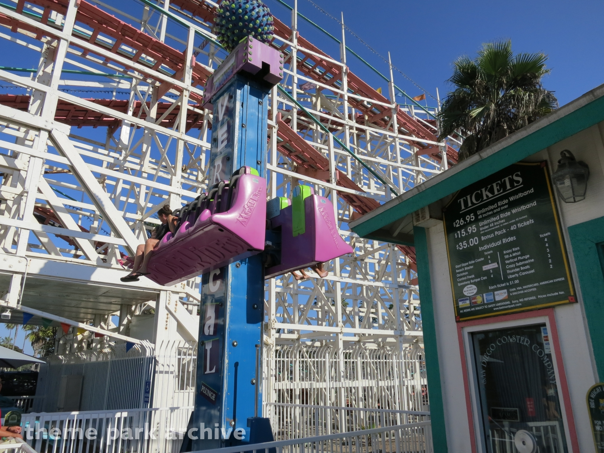 The Vertical Plunge at Belmont Park
