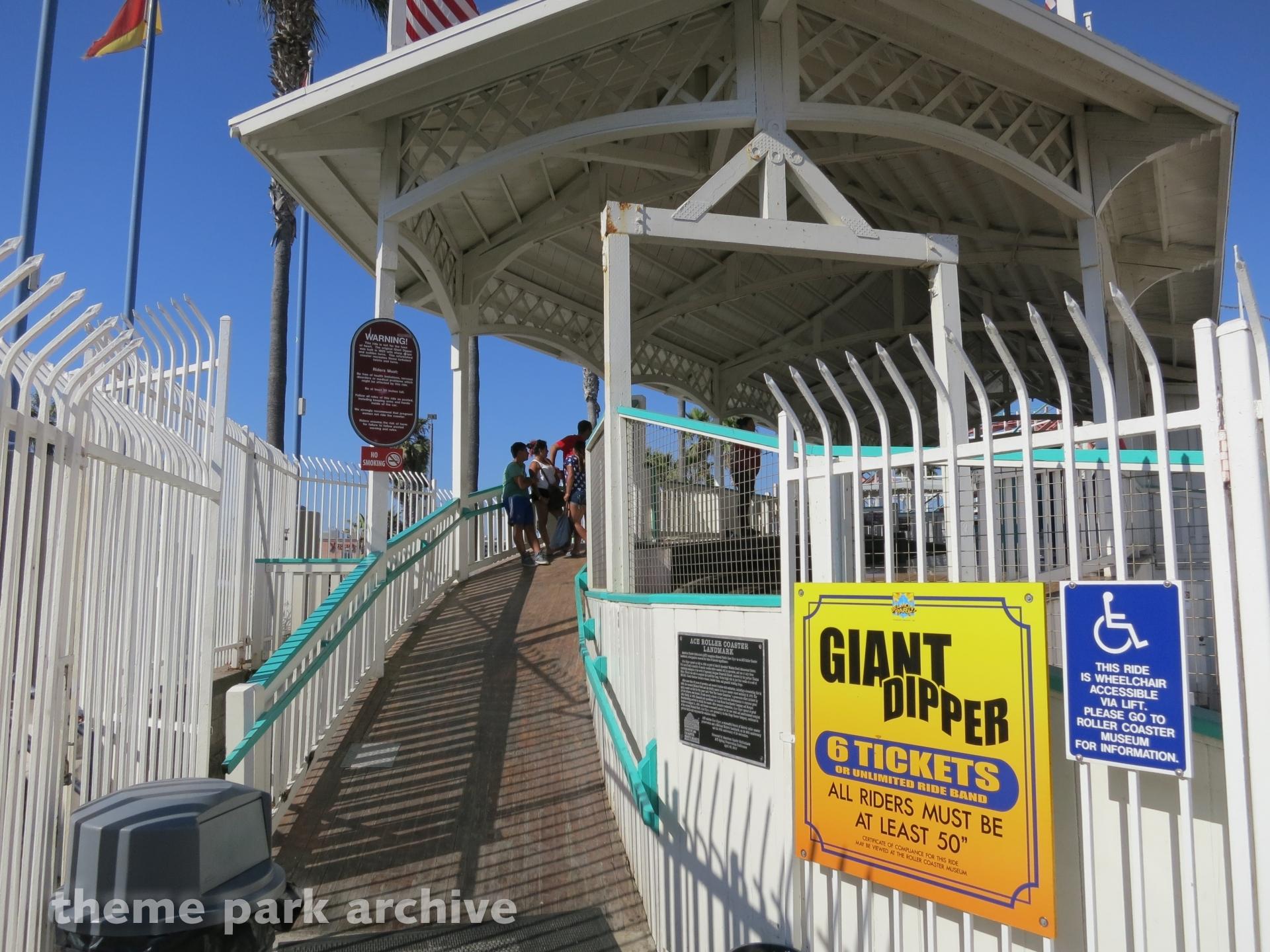 Giant Dipper at Belmont Park