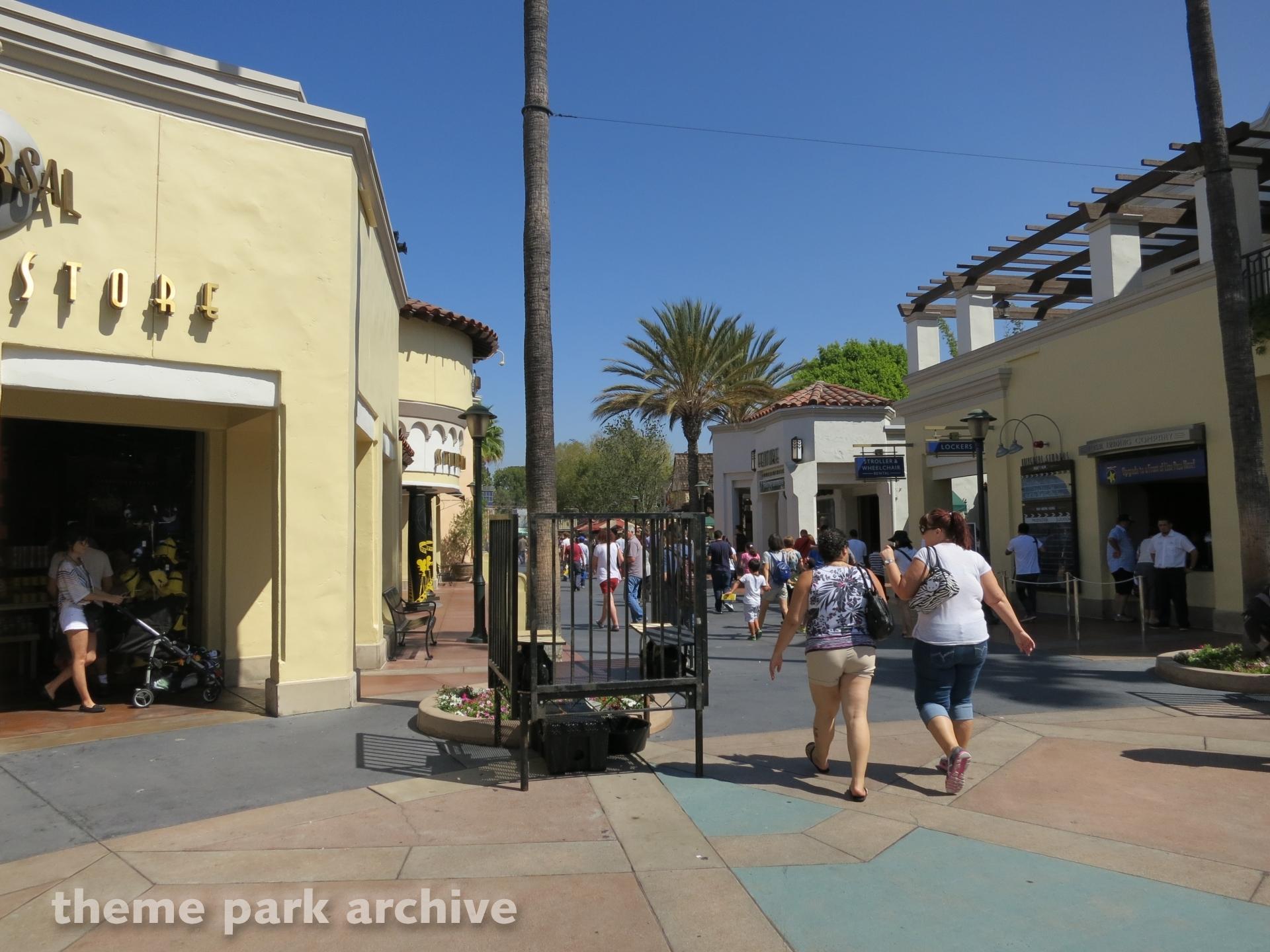 Upper Lot at Universal Studios Hollywood