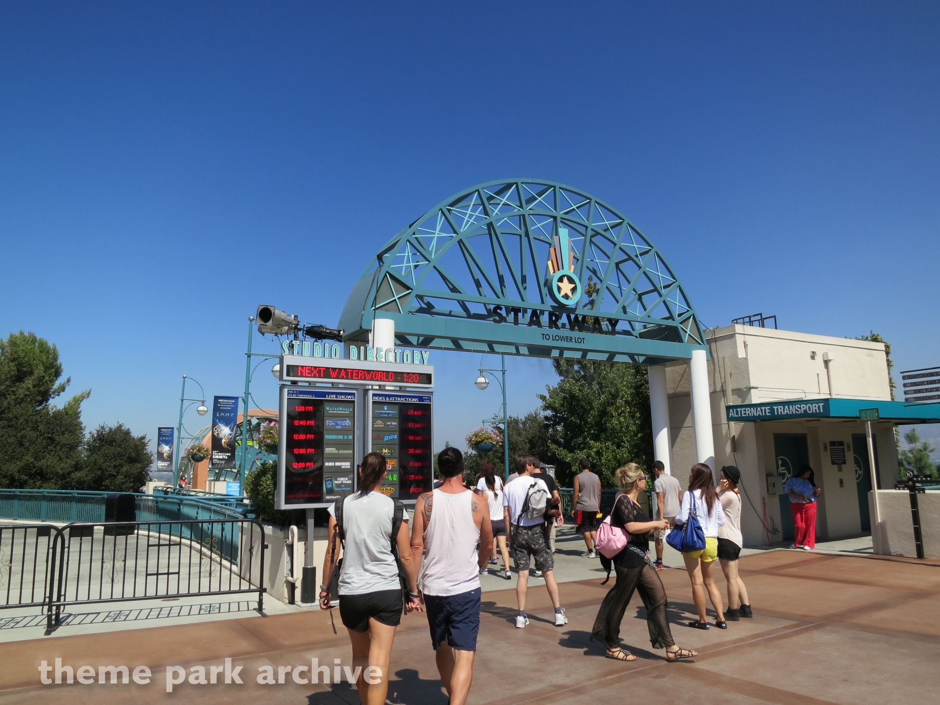 Starway at Universal Studios Hollywood
