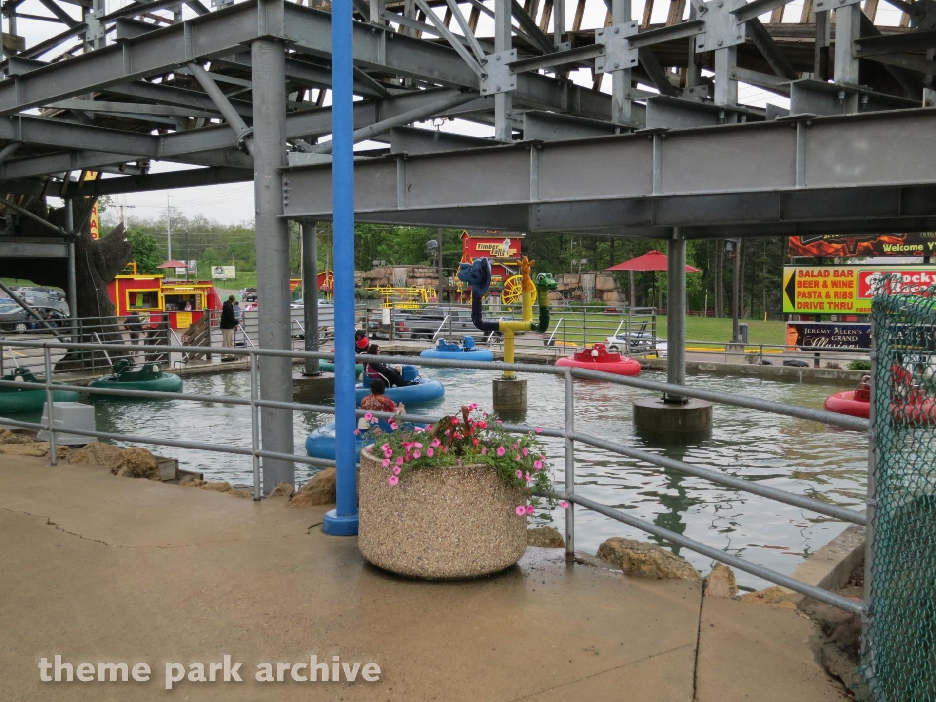 Bumper Boats at Timber Falls Adventure Park
