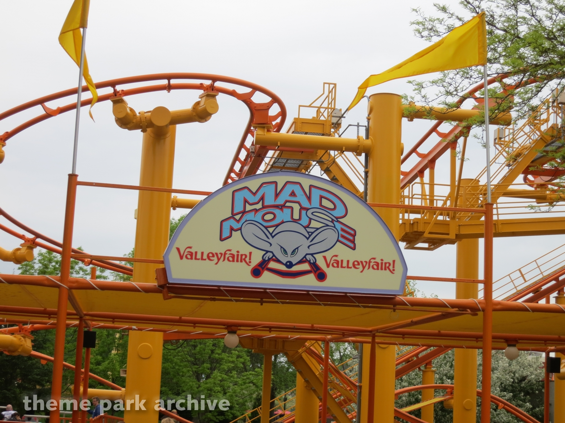 Mad Mouse at Valleyfair