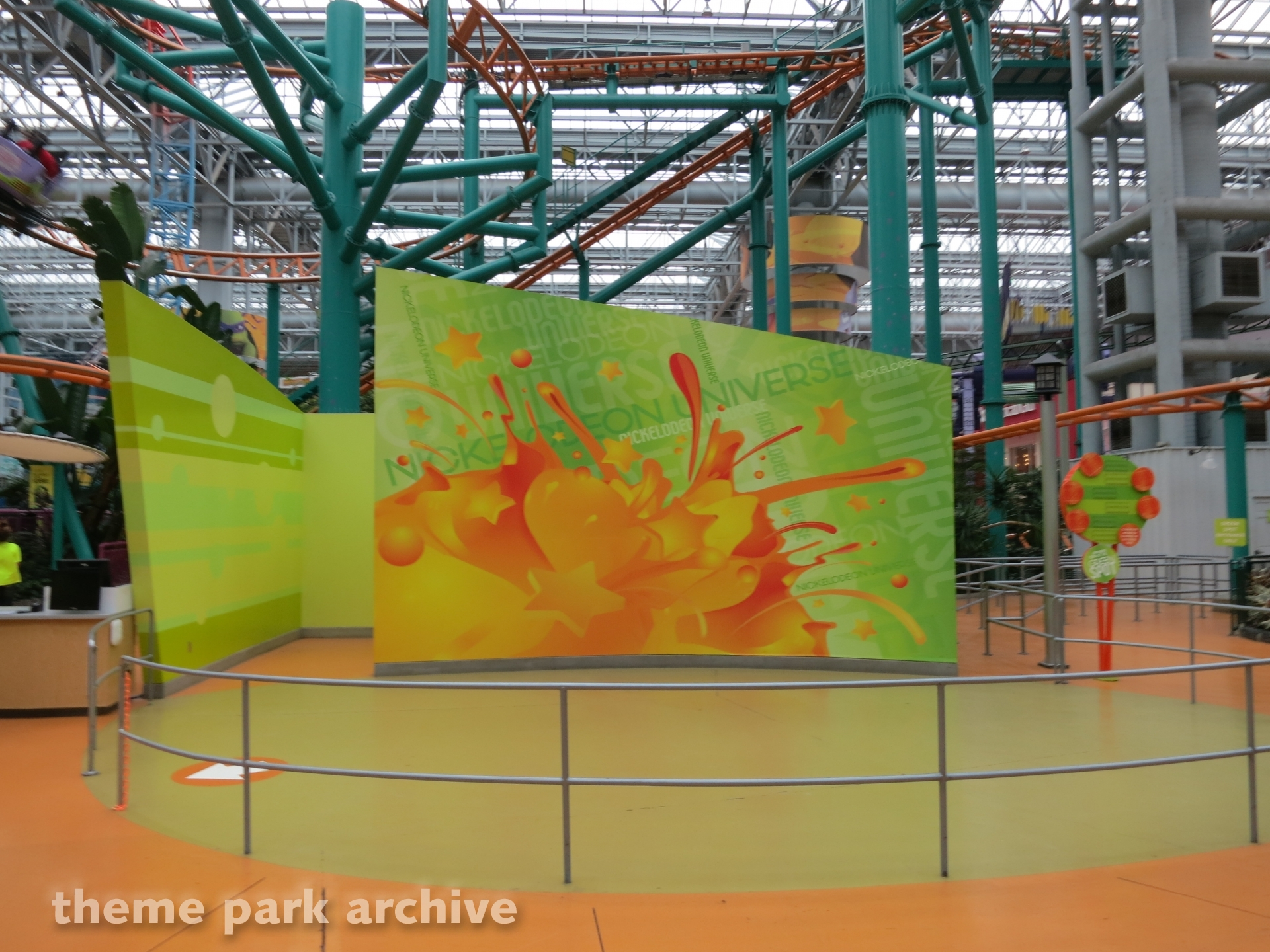 Misc at Nickelodeon Universe at Mall of America