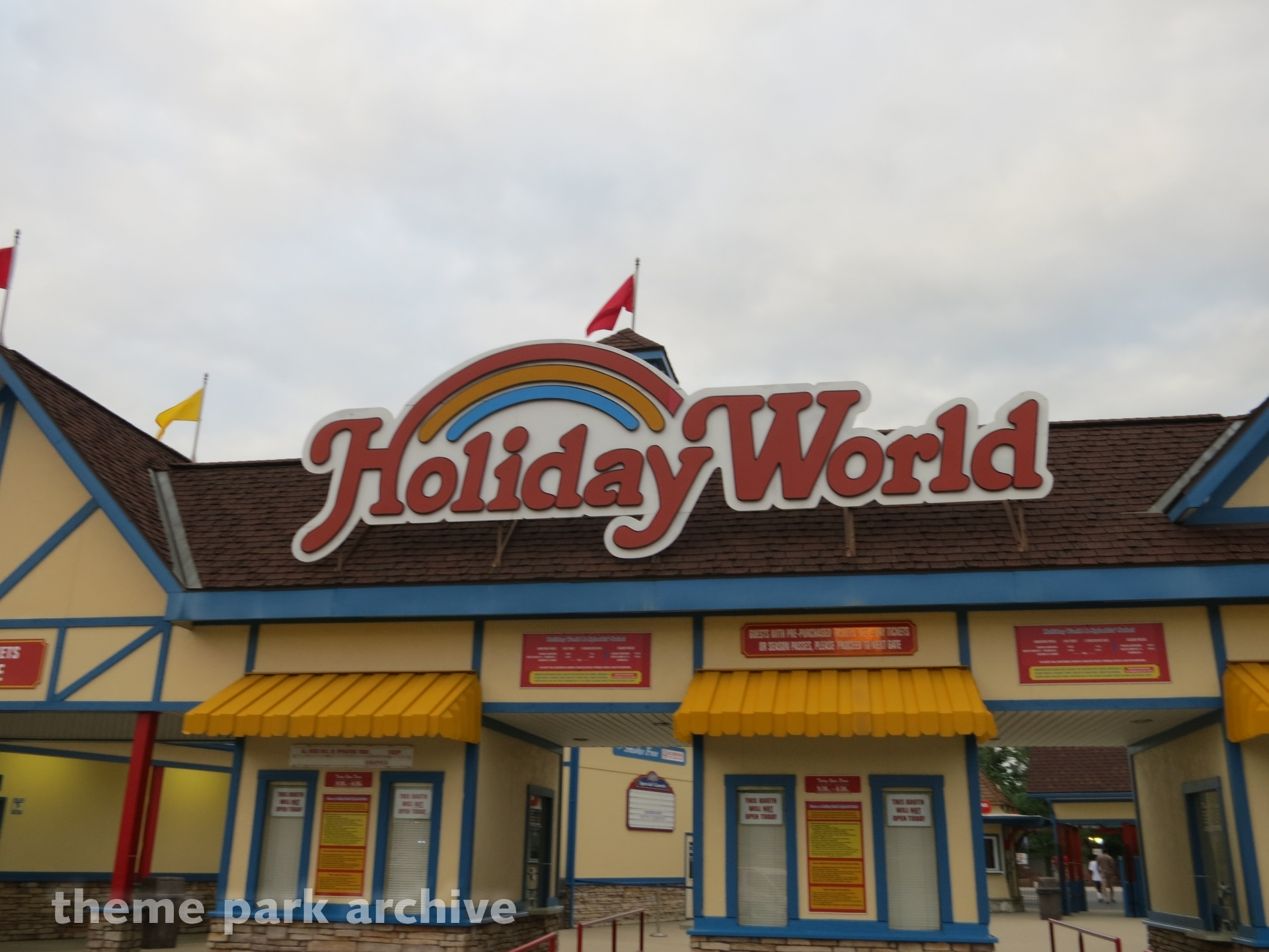 Entrance at Holiday World