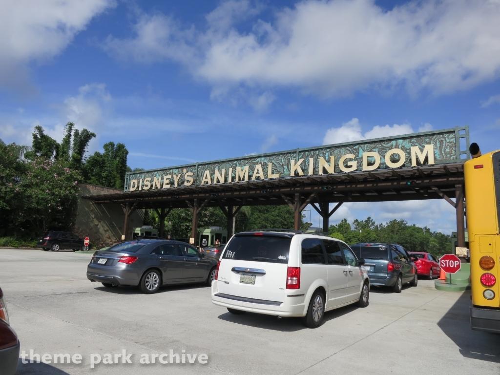 Parking at Disney's Animal Kingdom