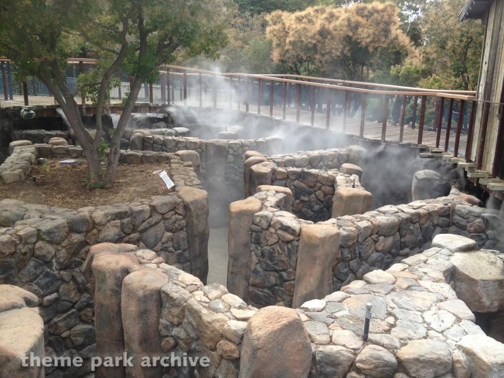 Pinnacles Rock Maze at Gilroy Gardens
