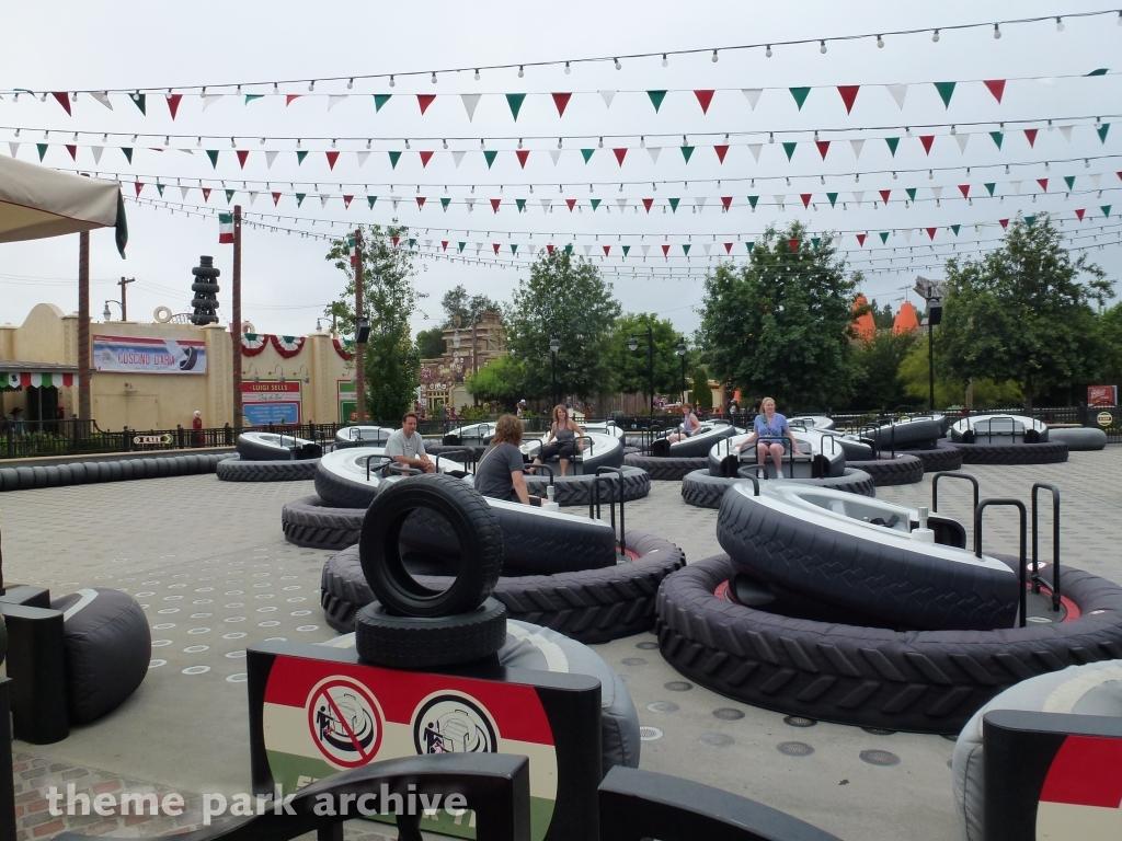 Luigi's Flying Tires at Disney California Adventure