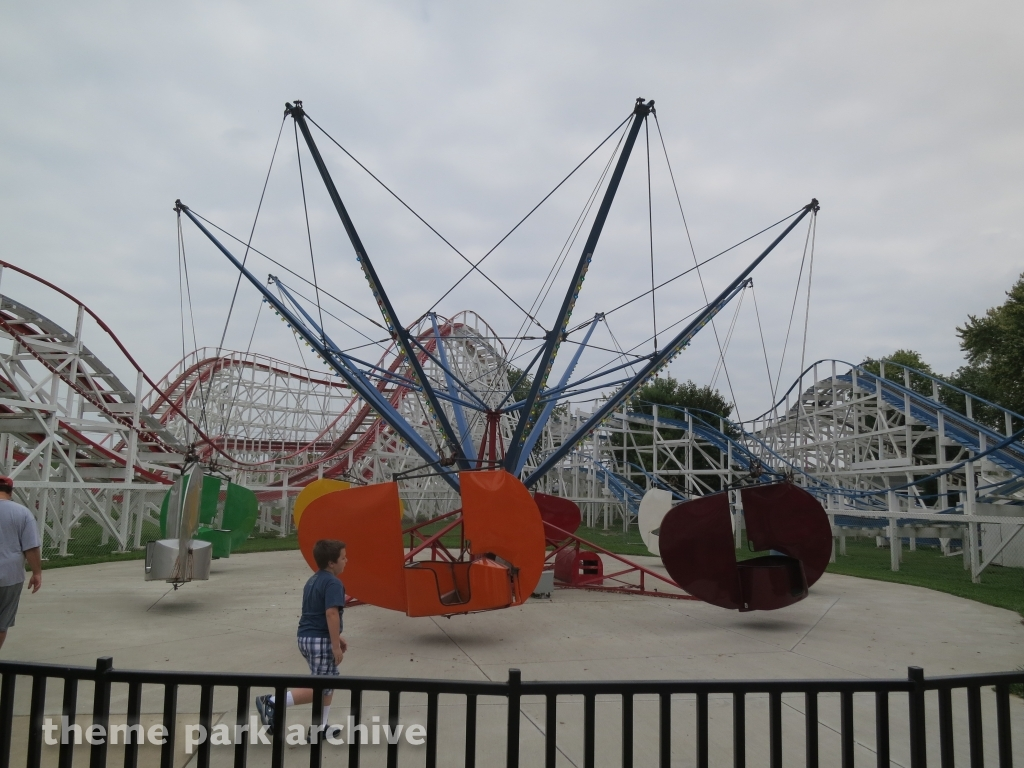 Flying Scooters at Stricker's Grove