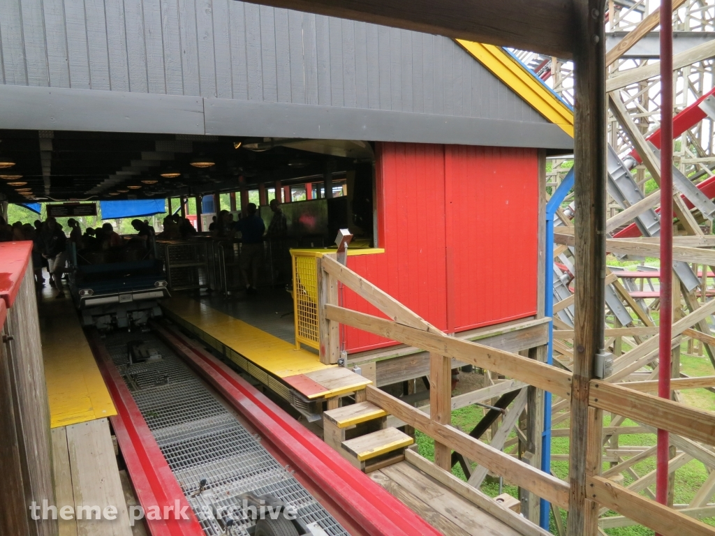 New Texas Giant at Six Flags Over Texas