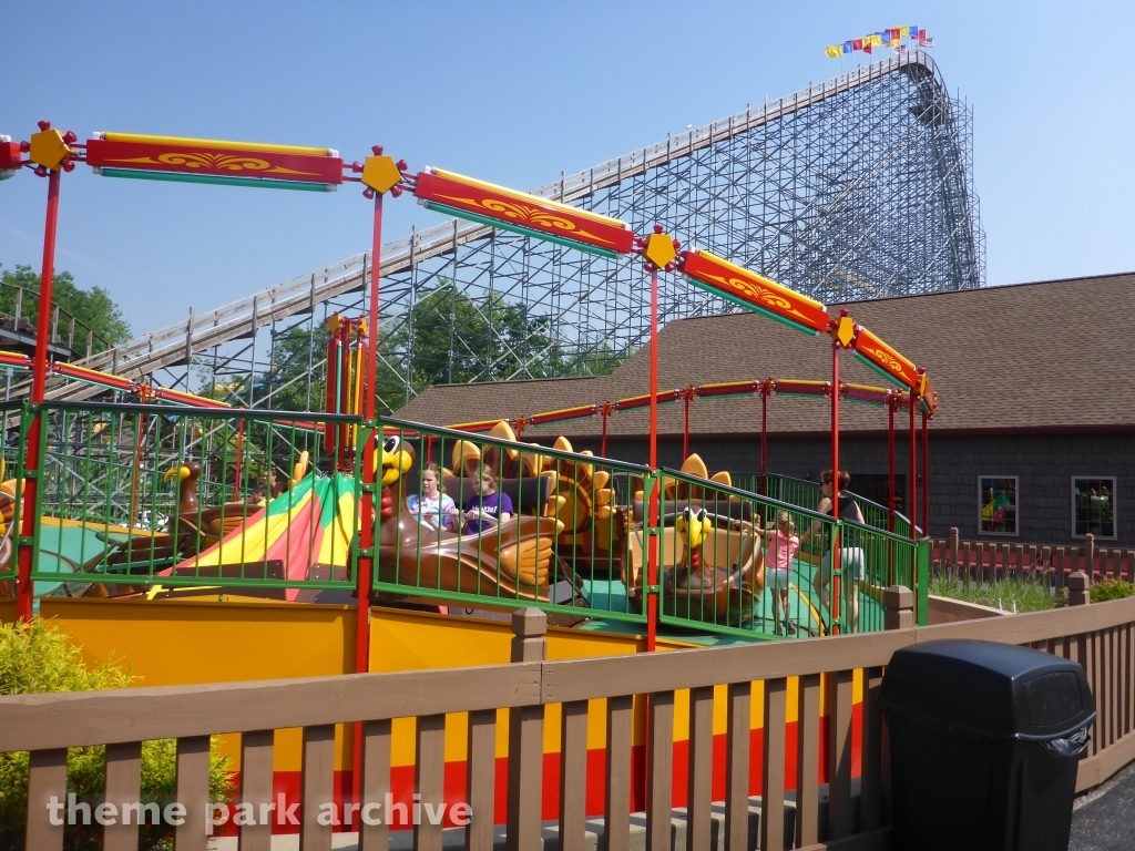 Turkey Whirl at Holiday World