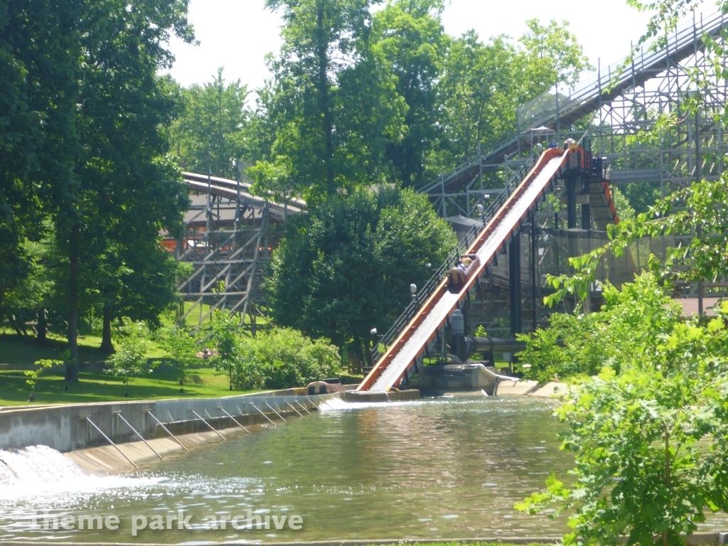 Frightful Falls at Holiday World