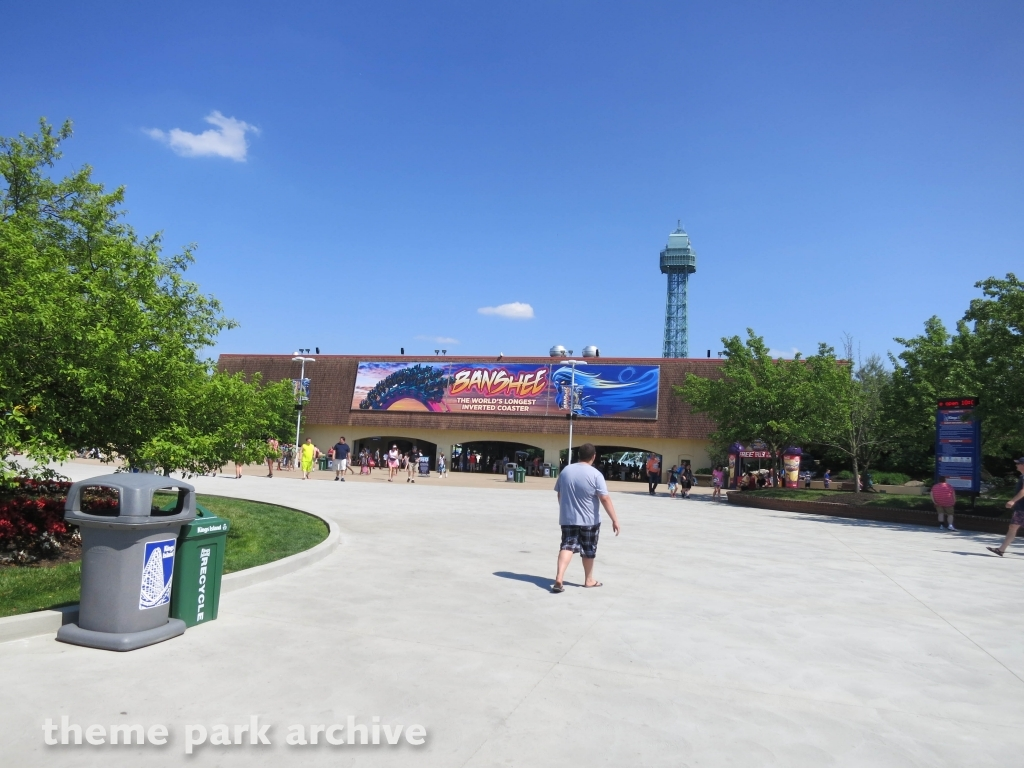 Entrance at Kings Island