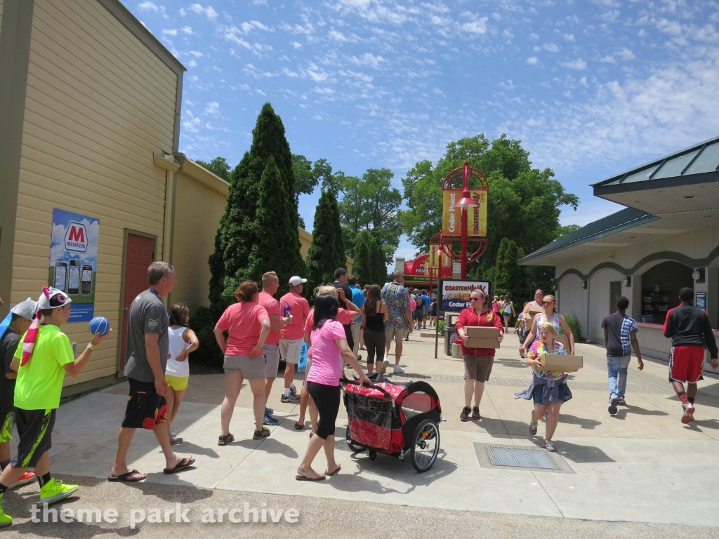 Picnic Pavilions at Cedar Point