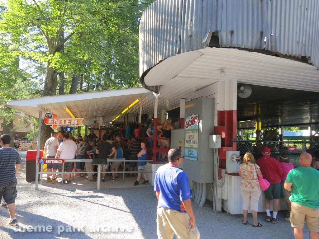Skooter Bumper Cars at Knoebels Amusement Resort