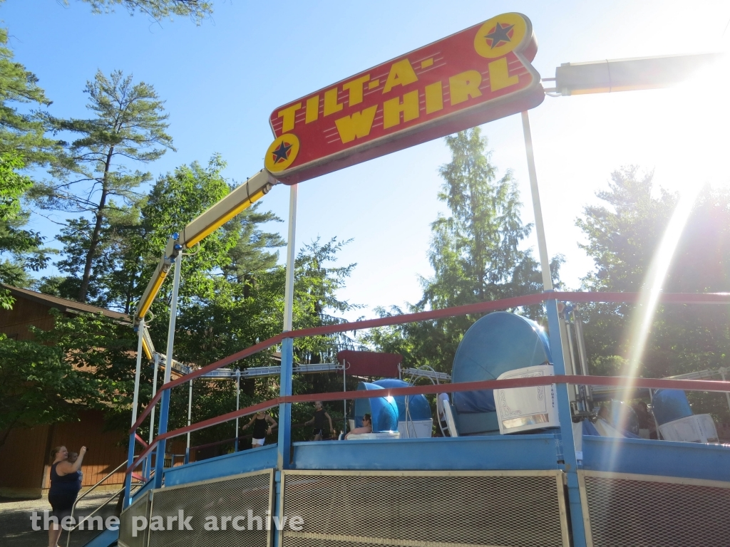 Tilt A Whirl at Knoebels Amusement Resort