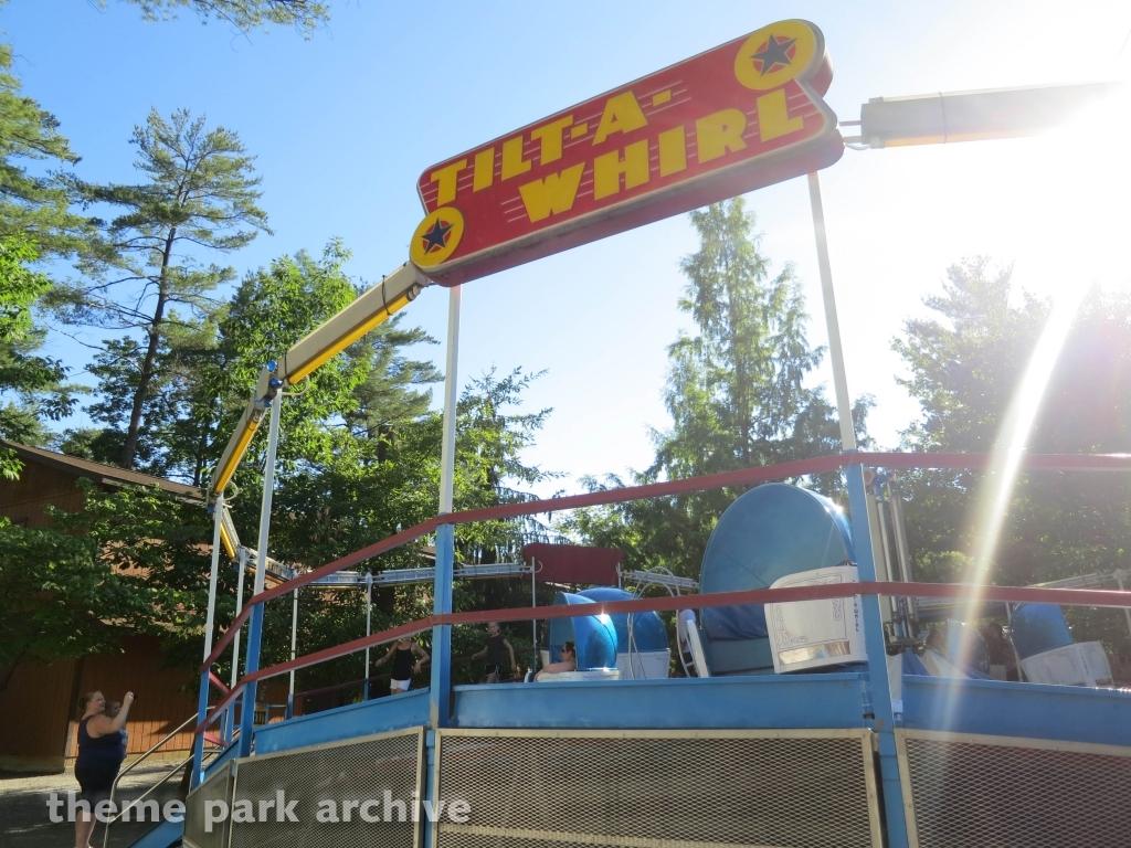 Tilt A Whirl at Knoebels Amusement Resort