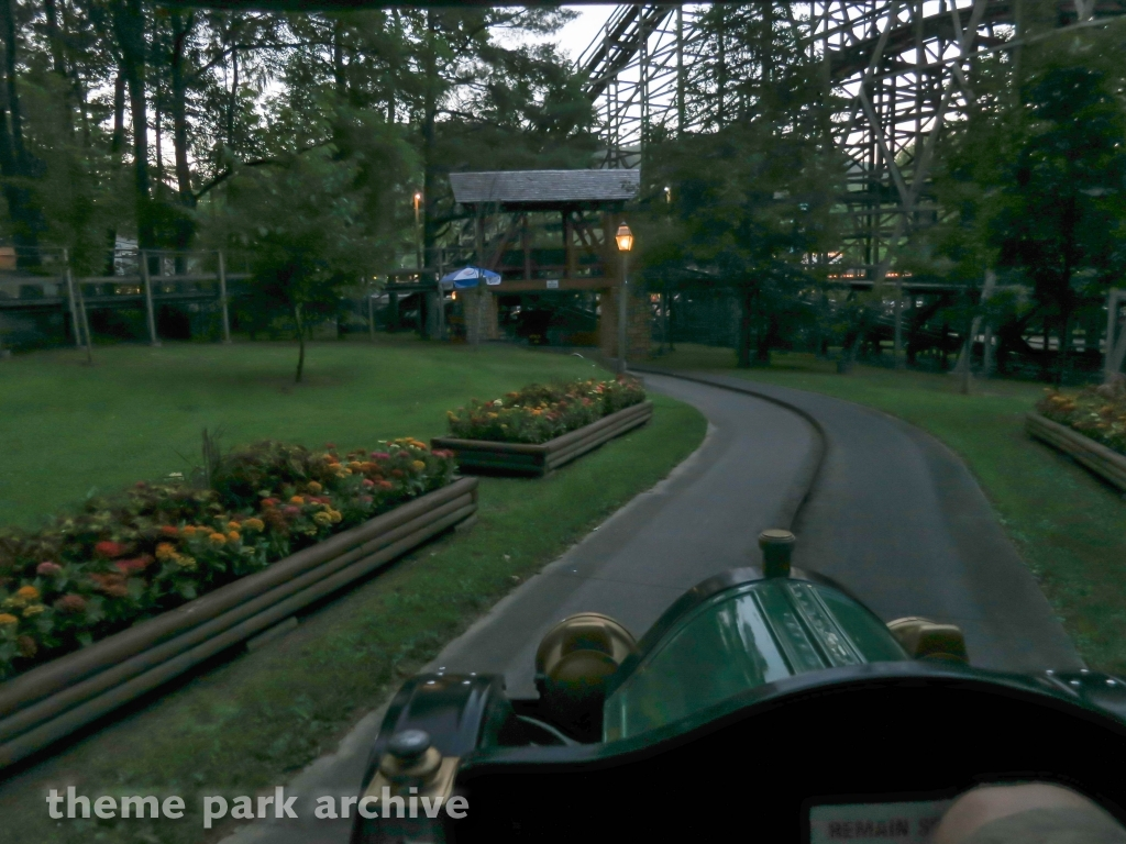 Antique Cars at Knoebels Amusement Resort