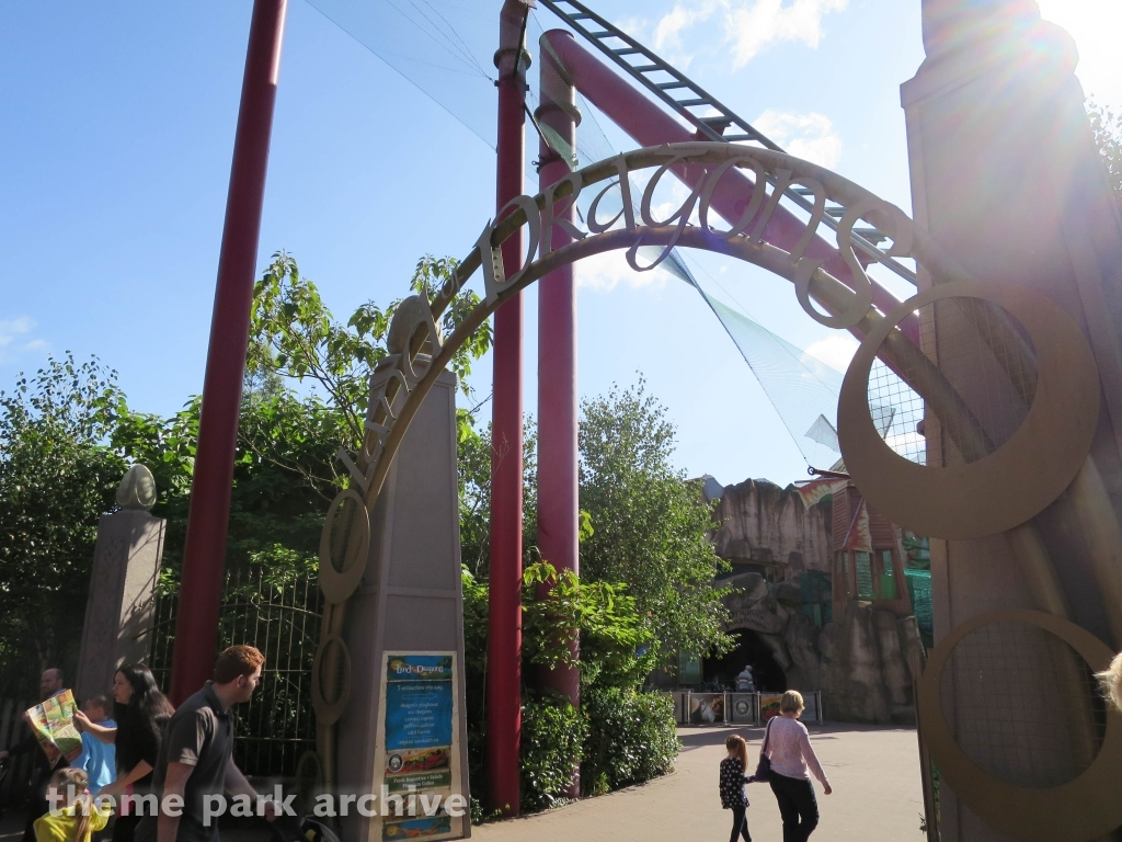 Land of the Dragons at Chessington World of Adventures Resort