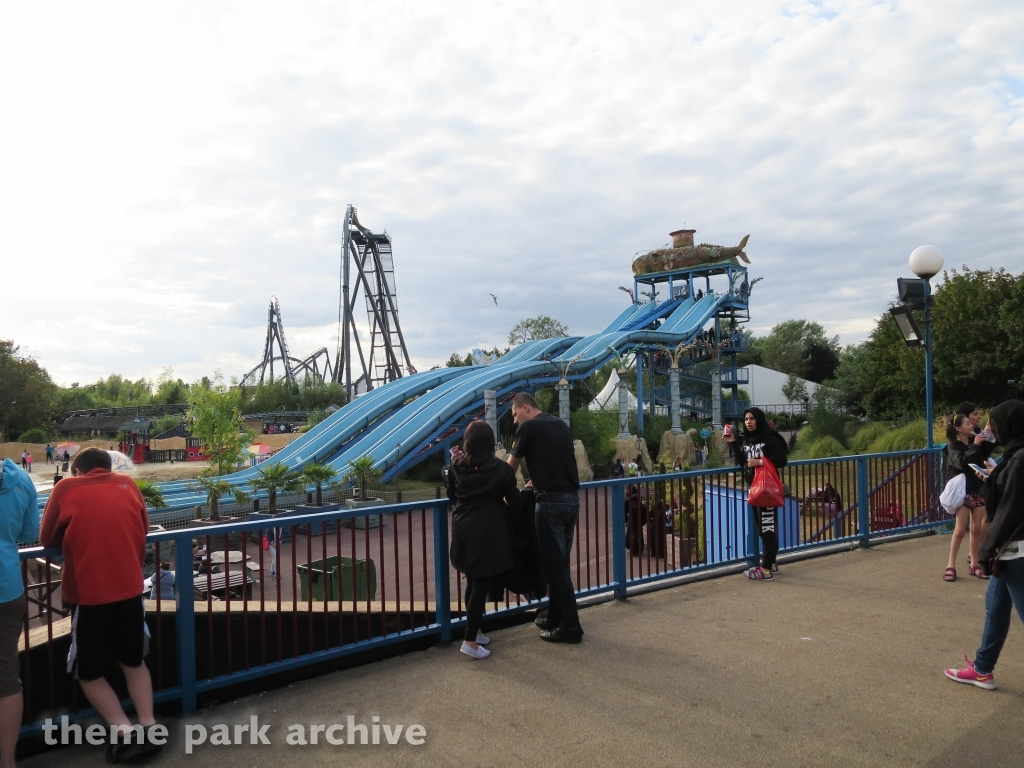 Depth Charge at Thorpe Park