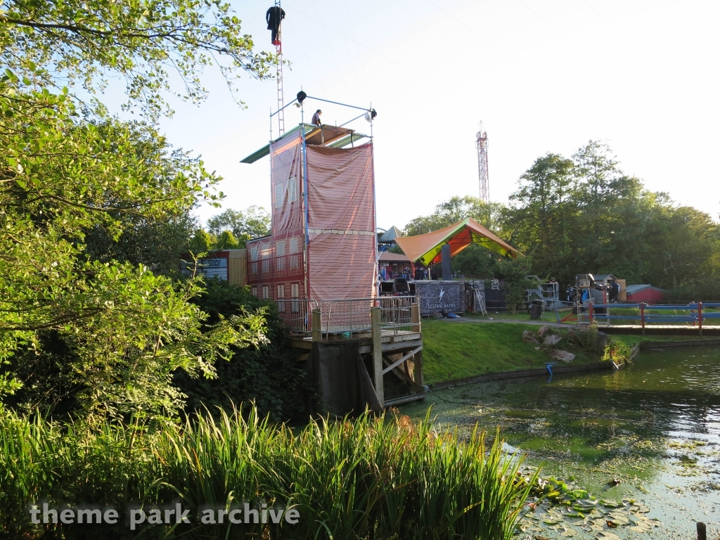 Boating Lake at Oakwood Theme Park