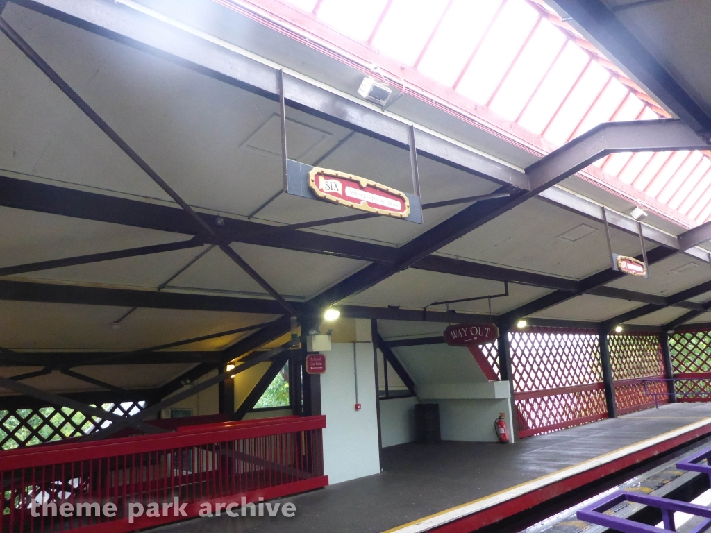 Monorail at Alton Towers