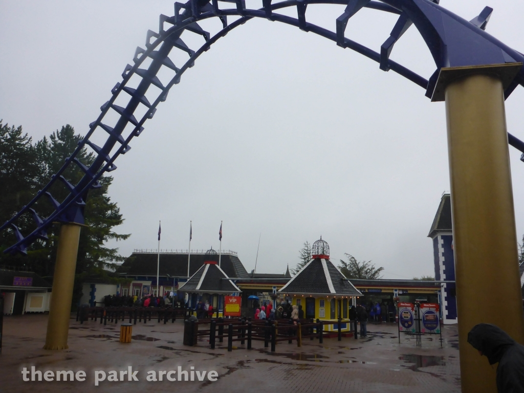 Entrance at Alton Towers
