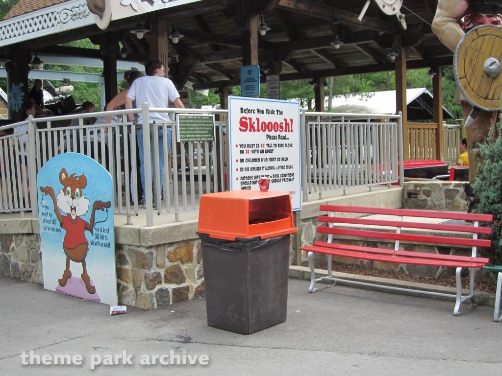 Skloosh at Knoebels Amusement Resort