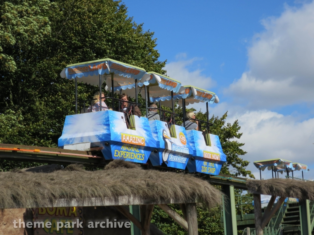 Theme Park Archive Zoo Monorail At Flamingo Land