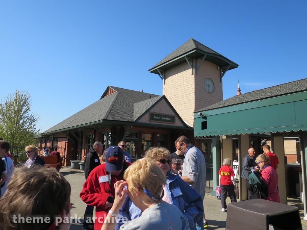 Entrance at Kennywood
