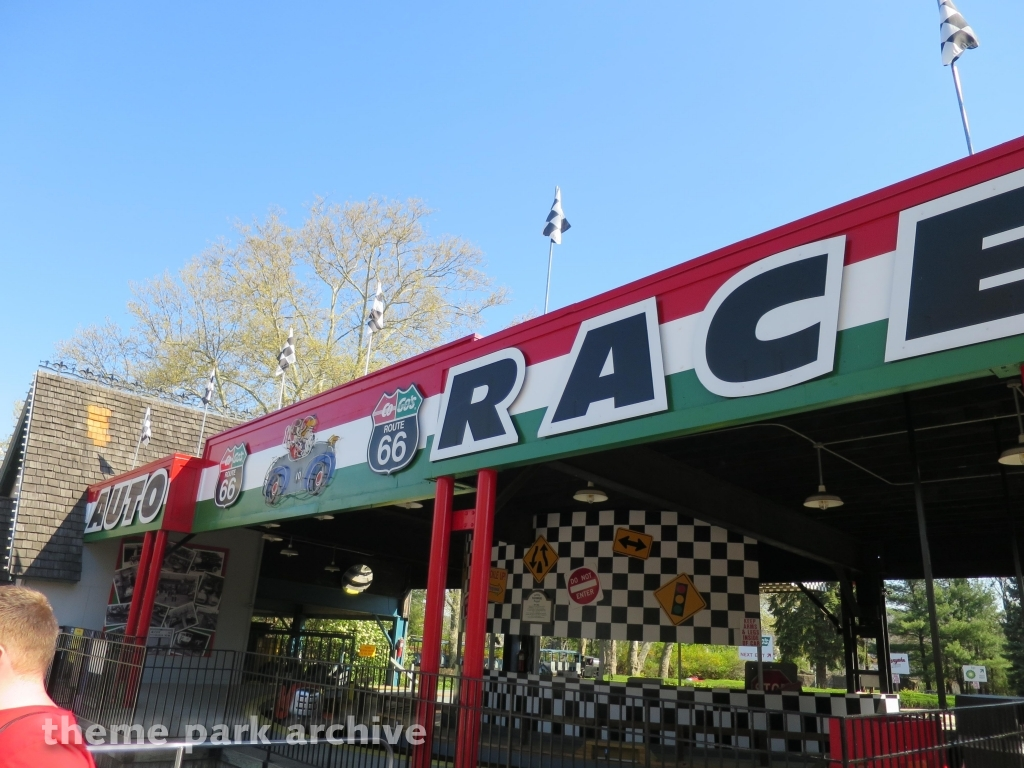 Auto Race at Kennywood