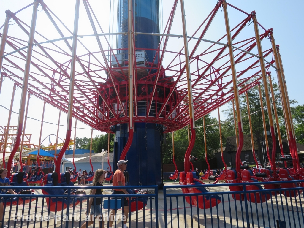 theme park archive windseeker at carowinds