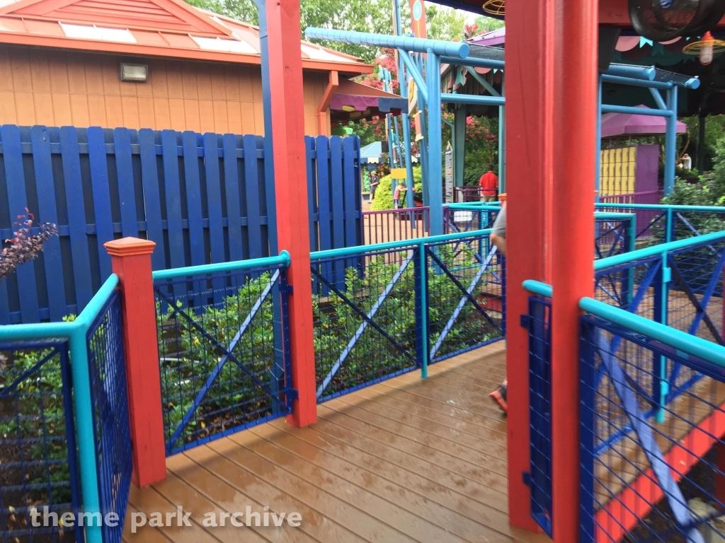 Theme Park Archive Tempesto At Busch Gardens Williamsburg