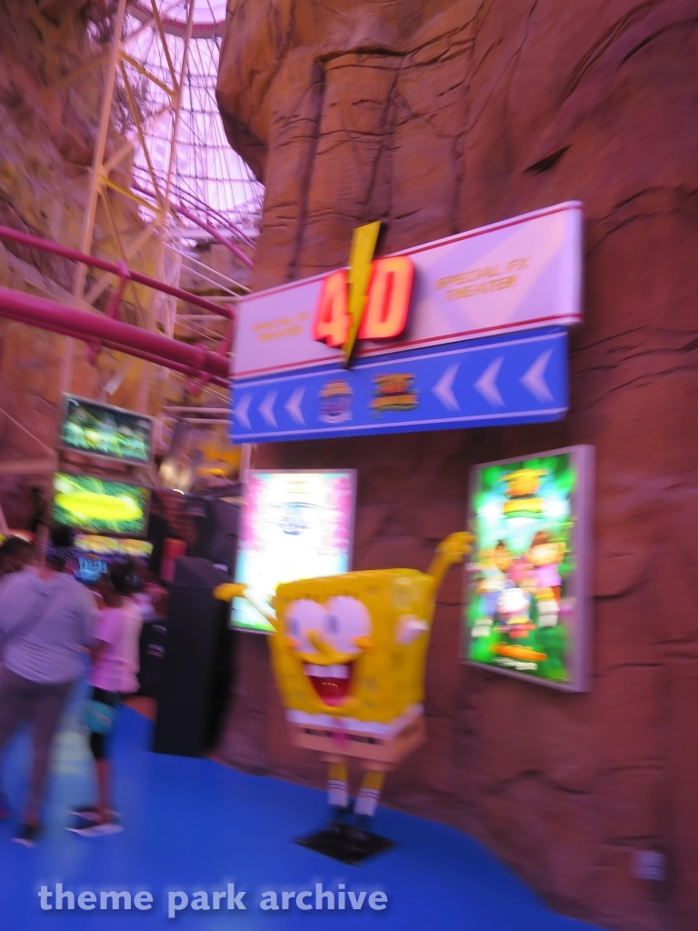 4D Special FX Theater at Adventuredome