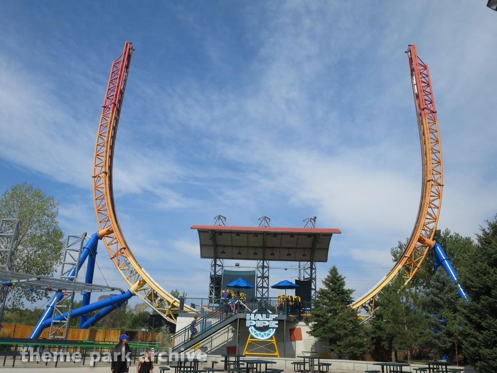Theme Park Archive Half Pipe At Elitch Gardens